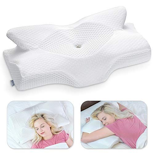 """7.5/"""" Orthopedic Contour Wedge Support Bed Sleeping Pillow Cushion"""