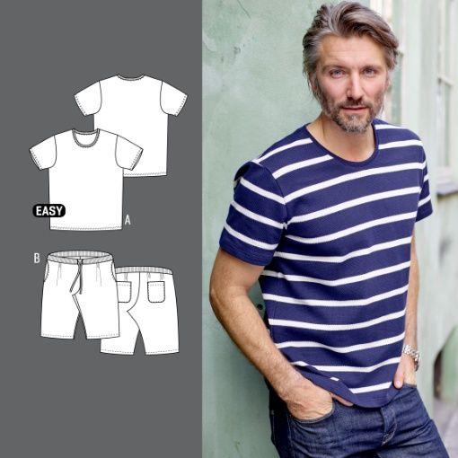T skjorte og shorts str. XS STOFF & STIL