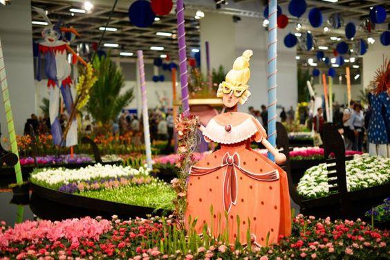 karnevall of flowers