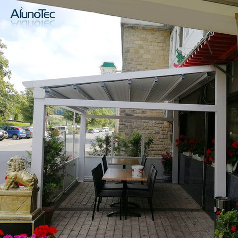 Outdoor Awning Adjustable Gazebo Electric Tent Retractable Roof For Patio Canvas Awnings Outdoor Awnings Pergola