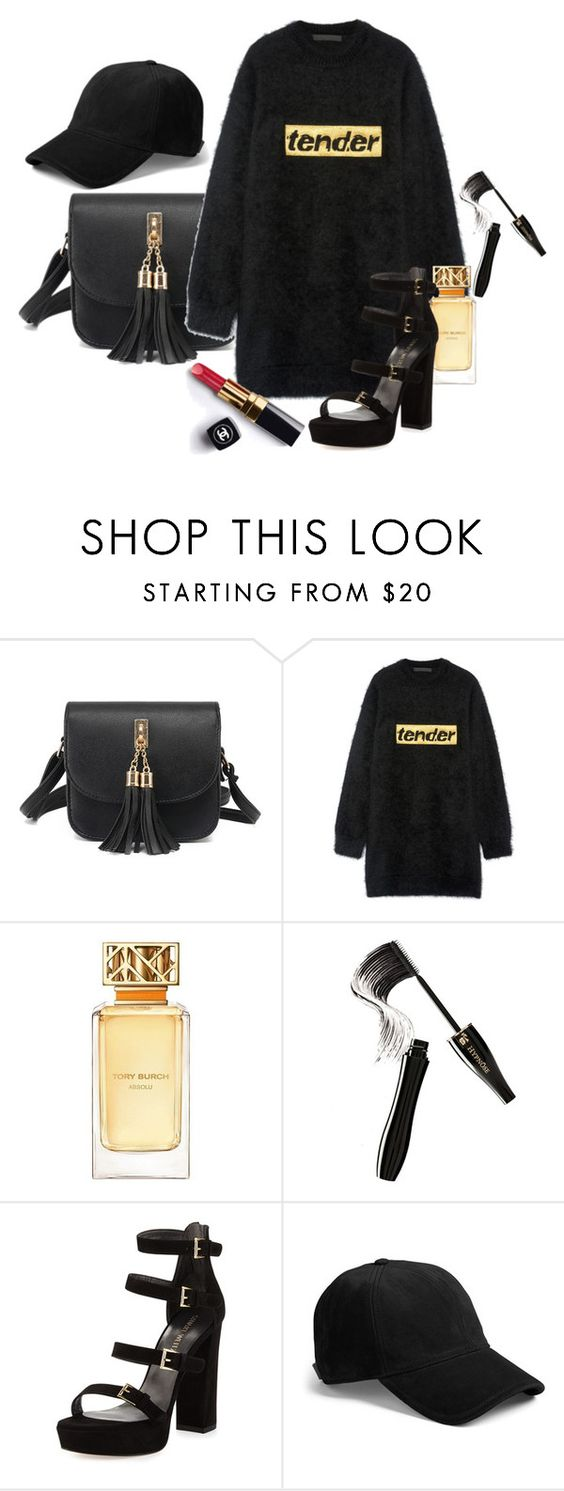 """Flying Blind"" by chelsofly ❤ liked on Polyvore featuring Alexander Wang, Chanel, Tory Burch, Lancôme, Stuart Weitzman, rag & bone, ChicChick, Fall2016 and homecominglooks"