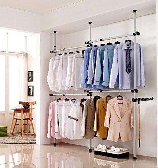 112601422518 Not Available Simple Closet Diy Clothes Rack Garment Rack Diy
