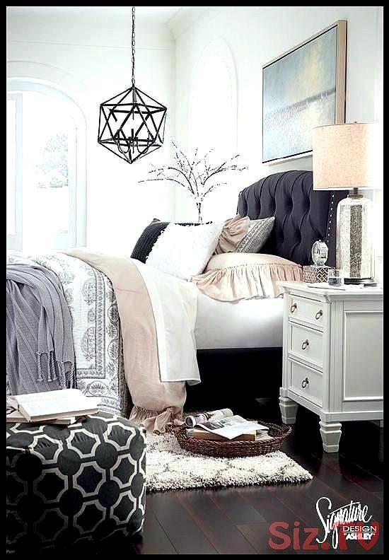 Grey Upholstered Headboard Bedroom Ideas Lanzhome Com In 2020 Grey Headboard Bedroom Gray Upholstered Headboard Grey Headboard