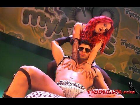 Show Erotico de Camila Montalban junto al Modelo Ben Mns - YouTube