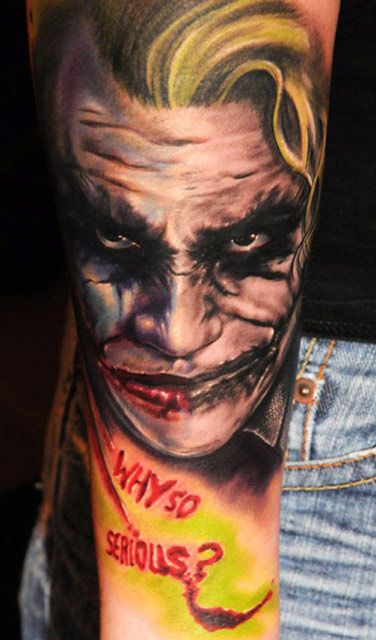 Tattoo Artist - Andy Engel - www.worldtattoogallery.com/movies_tattoo