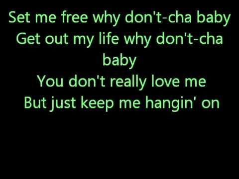 Glee You Keep Me Hangin' On with lyrics - YouTube