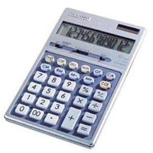 Sharp EL339HB Semi-Desk Executive Metal Top 12-Digit Calculator (Office Product) www.amazon.com/...