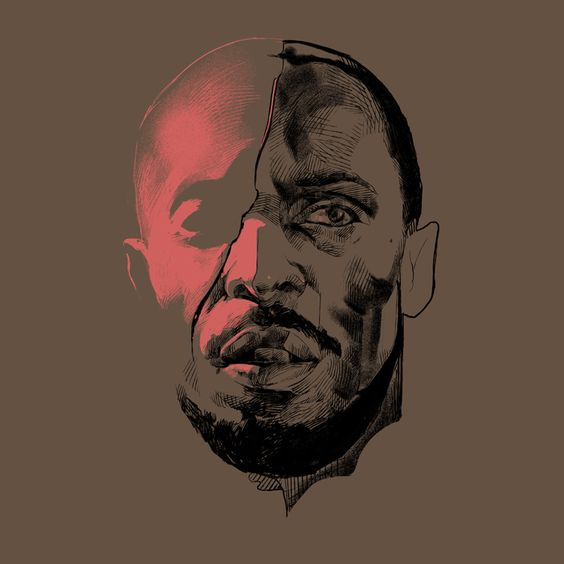Omar from The Wire Print