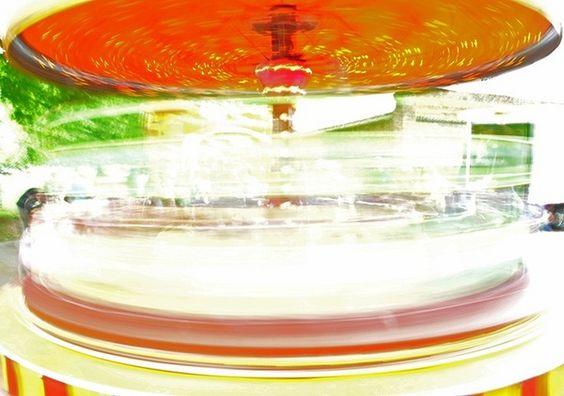 roundabout blur by heather.samuel, via Flickr