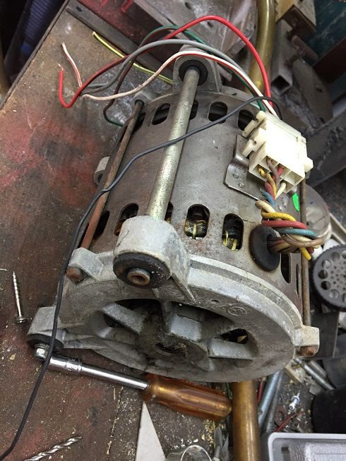 Please Help To Wire Up Motor By Garage Nut Friend Scrapped A Defy Auto Front Loader Washing Machine Washing Machine Motor Front Loader Washing Machine Motor
