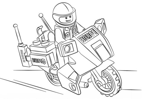 Lego Police Coloring Pages Coloring Pages Lego City Mermaid Coloring Pages