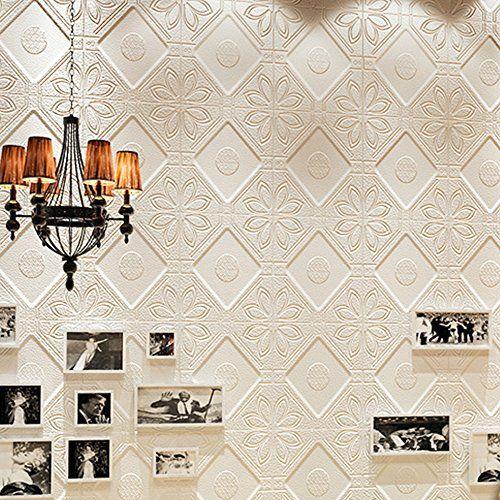 9 99 Yazi 3d Wallpaper Tiles Peel And Stick Wallpaper Wall Panels For Home Decor Tv Walls Kitchen Bedroo 3d Wallpaper Tiles Tv Decor Living Room Background