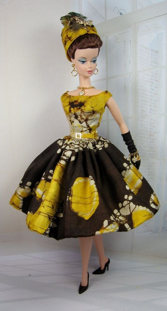 Island Queen for Silkstone Barbie and Victoire Roux on Etsy now