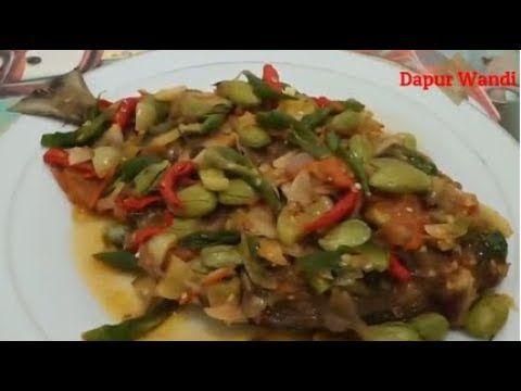 Resep Asam Manis Pedas Ikan Bawal Goreng Bumbu Iris Youtube Pedas Mani Food