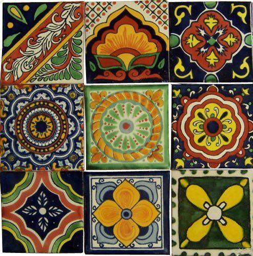 "9 Hand Painted Talavera Mexican Tiles 4""x4"" Spanish Influ... https://www.amazon.com/dp/B00BYHLX0E/ref=cm_sw_r_pi_dp_x_cSIYxbNZP02QV"