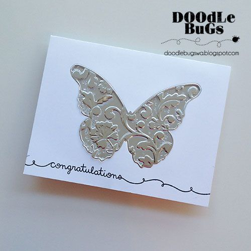 Doodlebugs Memory Box Lydia Butterfly Brands Memory