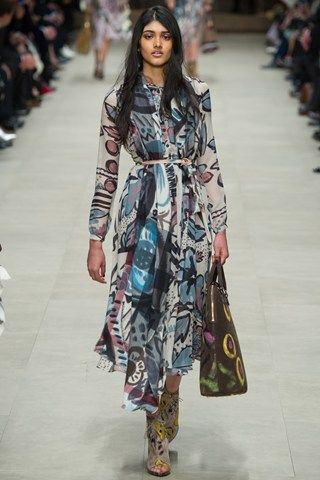 BURBERRY PRORSUM AUTUMN / WINTER COLLECTION 2014 / 2015 #EZONEFASHION