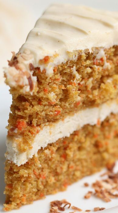 Carrot cakes, Carrots and Cream cheese frosting on Pinterest