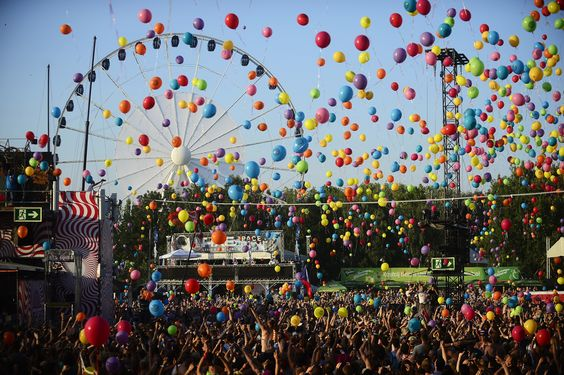 Sziget Music Festival Balloons: