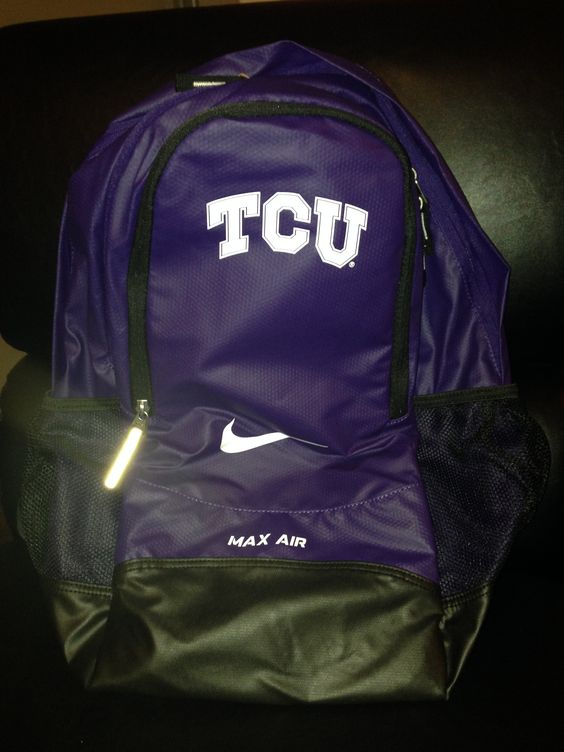 TCU Backpack, $20