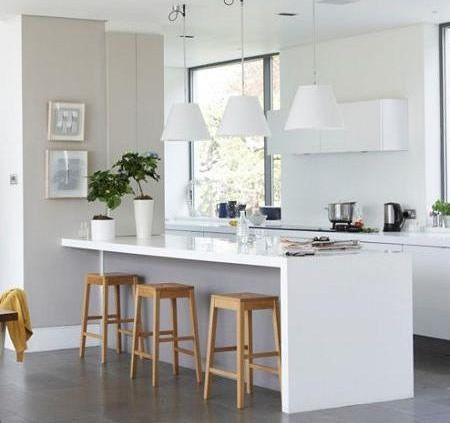 Cocinas en color Blanco   Interiores