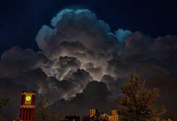 35 superbes photos qui montrent la toute puissance des cieux, quand la nature se fâche Oklahoma, Etats-Unis