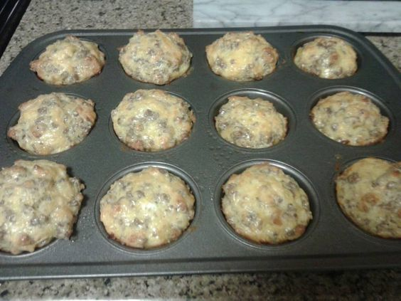 This+sounds+good!+Easy+and+quick+make+ahead+breakfast.+Recipes+I+Found+on+Facebook+and+Gathered+Here!%3a+Sausage+Muffins!