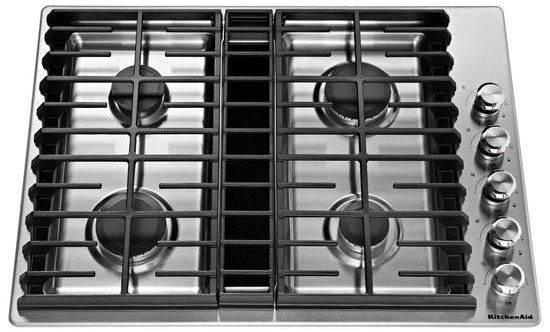 Abt Com Kitchenaid Kcgd500gss In 2020 Downdraft Cooktop Gas Cooktop Cooktop