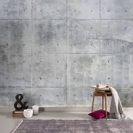 Concrete Wallpaper Google Search Concrete Wallpaper Faux Concrete Wall Concrete Wall