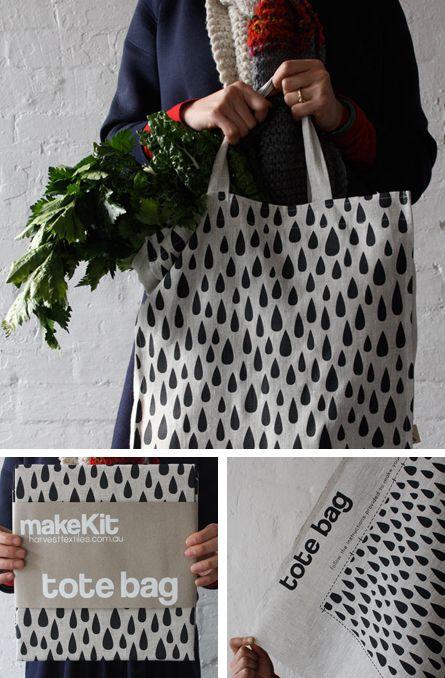 Tote bag by Harvest Workroom