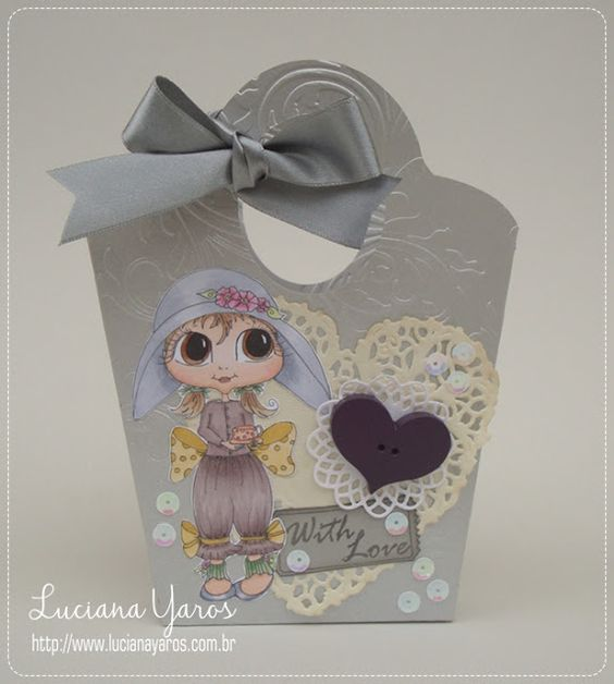Luciana Yaros Scrapbooking: With Love