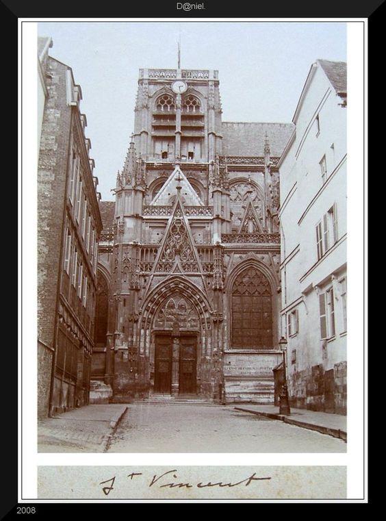 Rouen - Eglise Saint Vincent