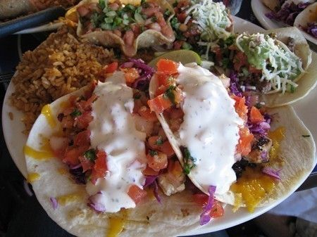Fish tacos south beach and beach bars on pinterest for Best fish taco recipe in the world