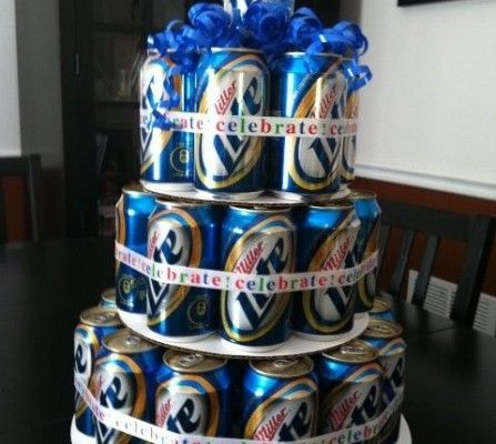 8 ways to surprise your groom on the big day...pretty sure the beer cake is the way to go!
