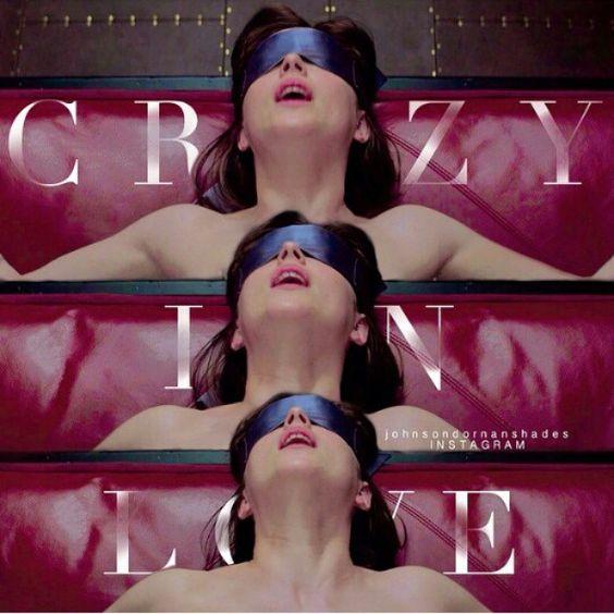 Crazy in love   #ChristianGrey  #AnastasiaSteele  #Ana #Christian  #FiftyshadesofGrey @lilyslibrary #GREY #JamieDornan  #DakotaJohnson