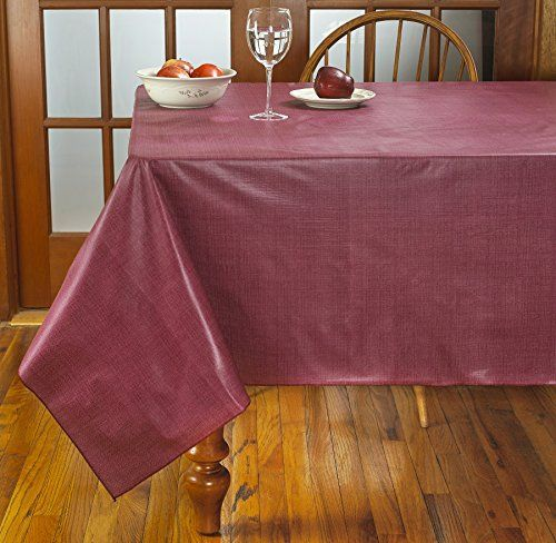 Homecrate Cafe Deauville Vinyl Tablecloth With Soft Flannel Backing 60 Vinyl Tablecloth Soft Flannel Table Cloth
