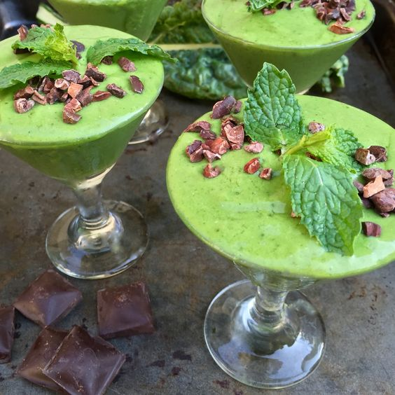 If you loved mint chip ice cream as a kid, then you are going to freak out over this nutrient-dense but scrumptious dessert.