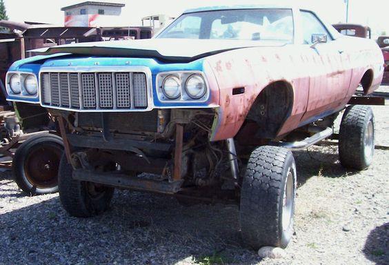 1974 Ford Ranchero  mudder monster