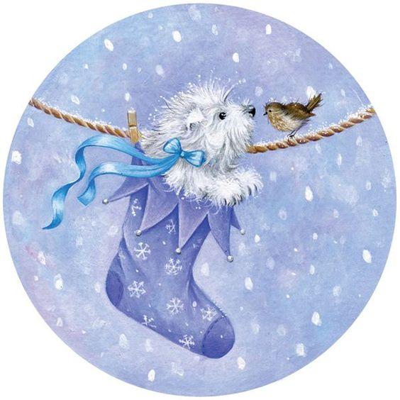 Sarah Summers Rond Winter Pinterest Christmas