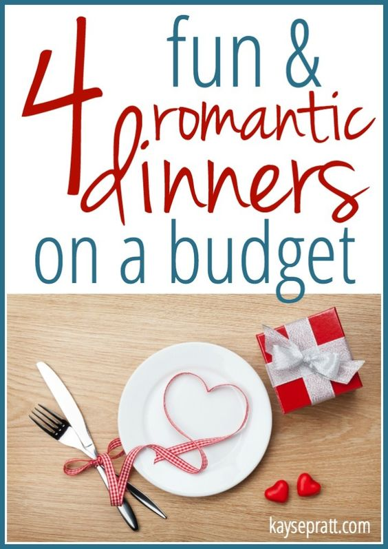 4 fun romantic dinners on a budget cheap easy for Easy romantic dinners to make at home