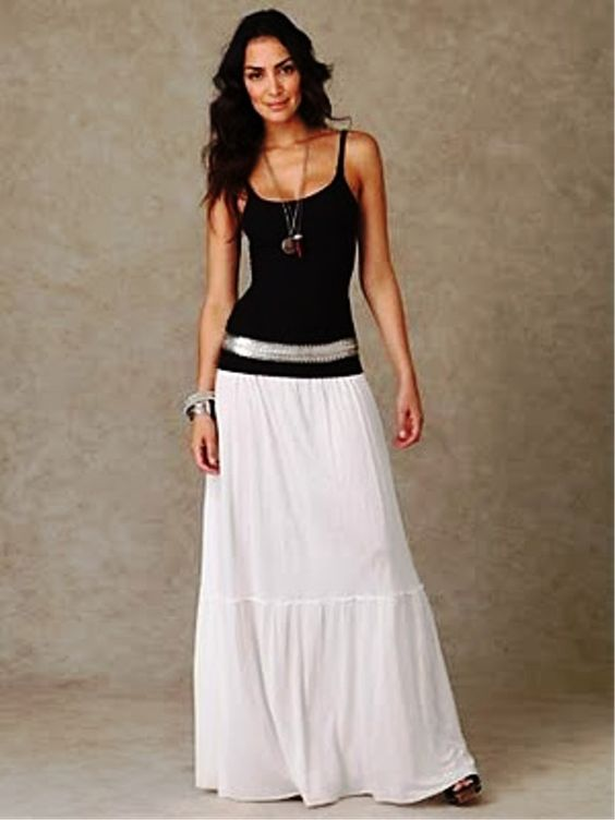 Long skirts design for favourite teen girls - 8 | Maxi Skirts ...