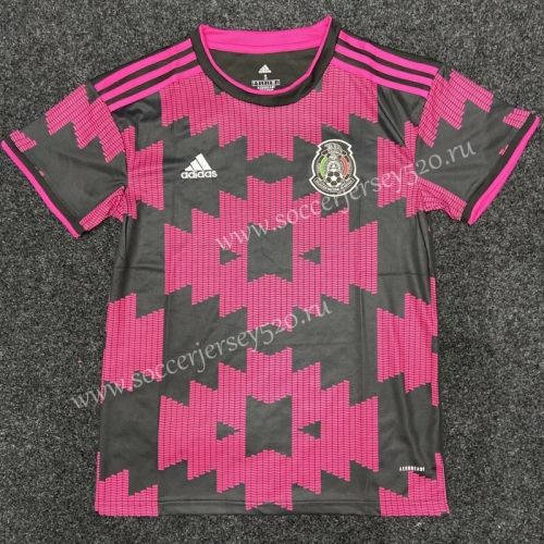 2020 2021 Mexico Home Pink Black Thailand Soccer Jersey Aaa In 2020 Soccer Jersey Affordable Shirts Soccer