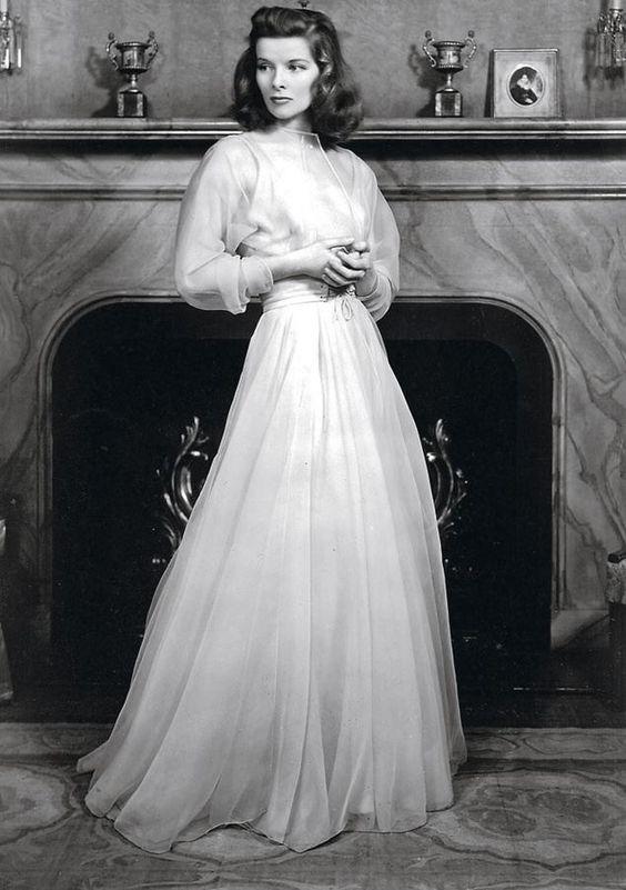 Tracy Lord (Katharine Hepburn) Historias de Filadelfia (1940)