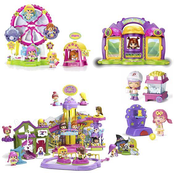 Juguetes infantiles: parques de atracciones