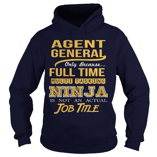 GENERAL AGENT - NINJA - #tshirt estampadas #victoria secret hoodie. CHEAP PRICE => https://www.sunfrog.com/LifeStyle/GENERAL-AGENT--NINJA-Navy-Blue-Hoodie.html?id=60505