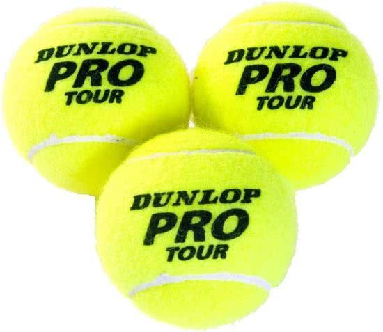 Dunlop Pro Tour Tennisballen 3 Stuks Dunlop De Dunlop Pro Tour Tennisballen Is Een Premie Naaldvilt Bal Ontworpen Vo Tennis Balls Tennis Ball Tennis