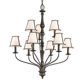 Kichler Lighting Donington 9-Light Olde Bronze Chandelier
