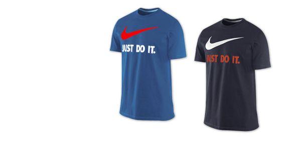 Camiseta Nike (Just do it) ¡Qué incomodidad!  A veces nos da por ponernos unos modelos imposibles, sobre todo para salir a la calle y llamar la atención.