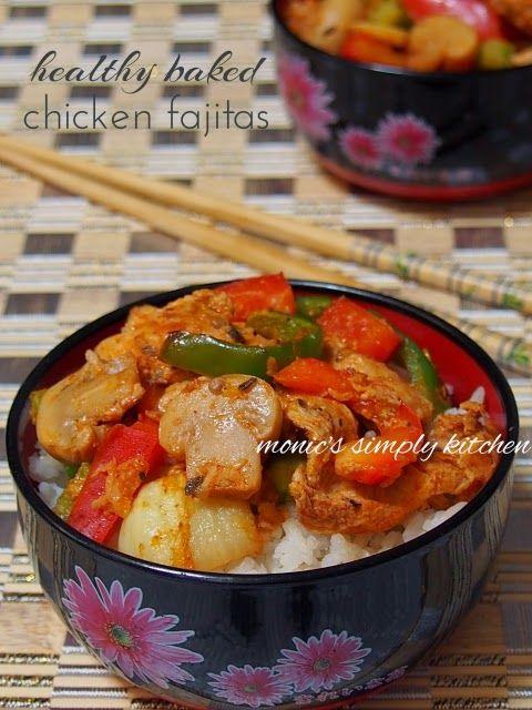 Chicken Fajitas Fajitas Ayam Makanan