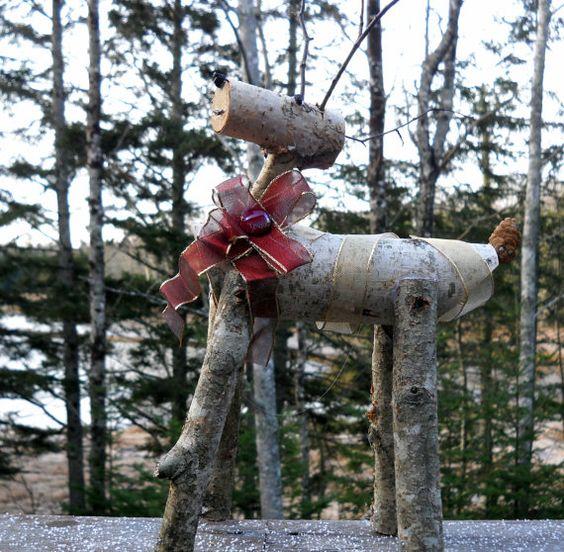 how to make birch deer